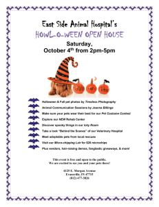 howl-o-ween open house spectacular