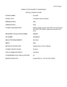 Child Registration form