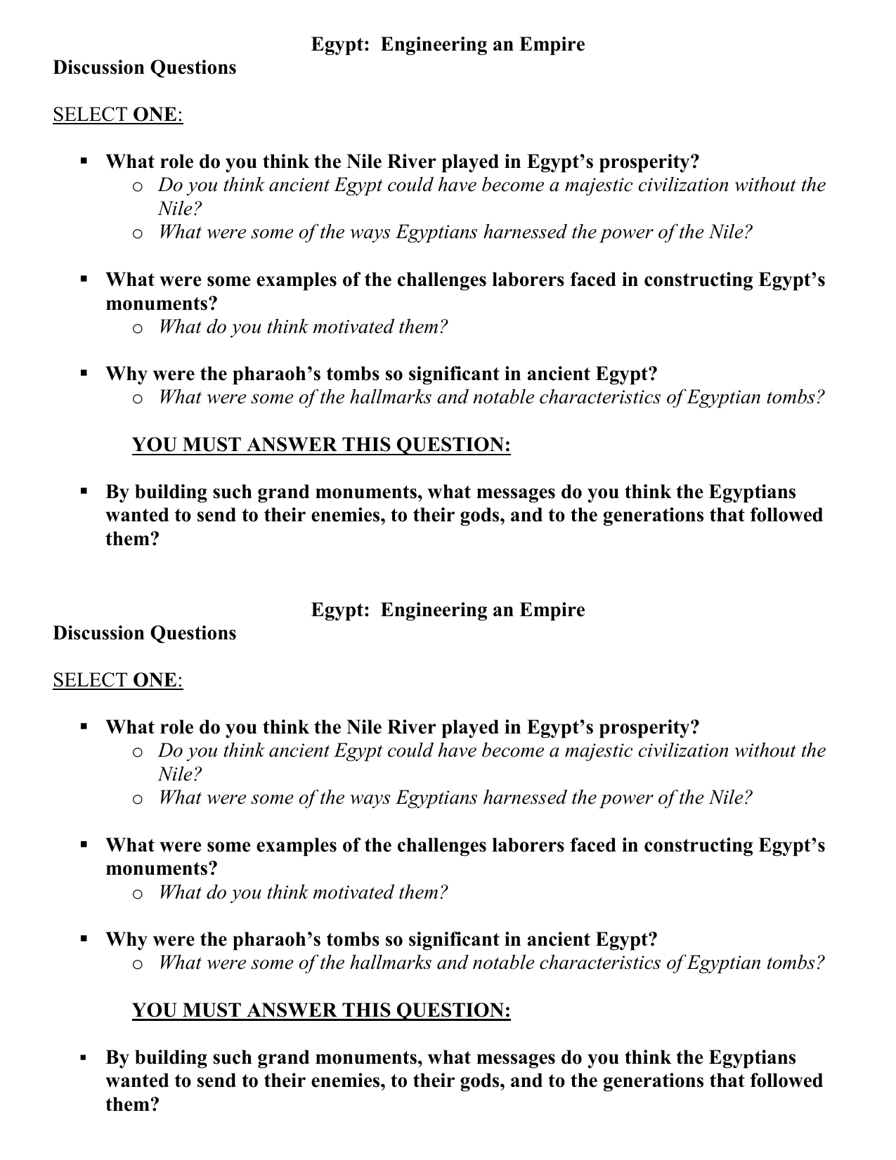 graphic about Ancient Egypt Printable Worksheets identify Egypt: Know-how an Empire
