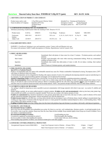HDP SAFETY DATA SHEET PRODUCT : LIQUID SILVER REV