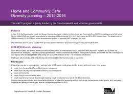 Diversity planning 2015-2016_information for HACC agencies