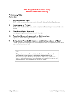 Research Topic Analysis Template