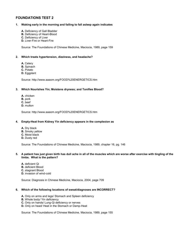 POINTS TEST 2 - Cat`s TCM Notes