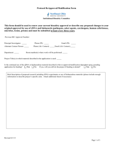 NJMS PATHOGEN & TOXIC REGISTRY FORM