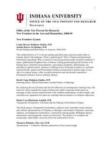 2008-09 Awards - Research Gateway : Indiana University
