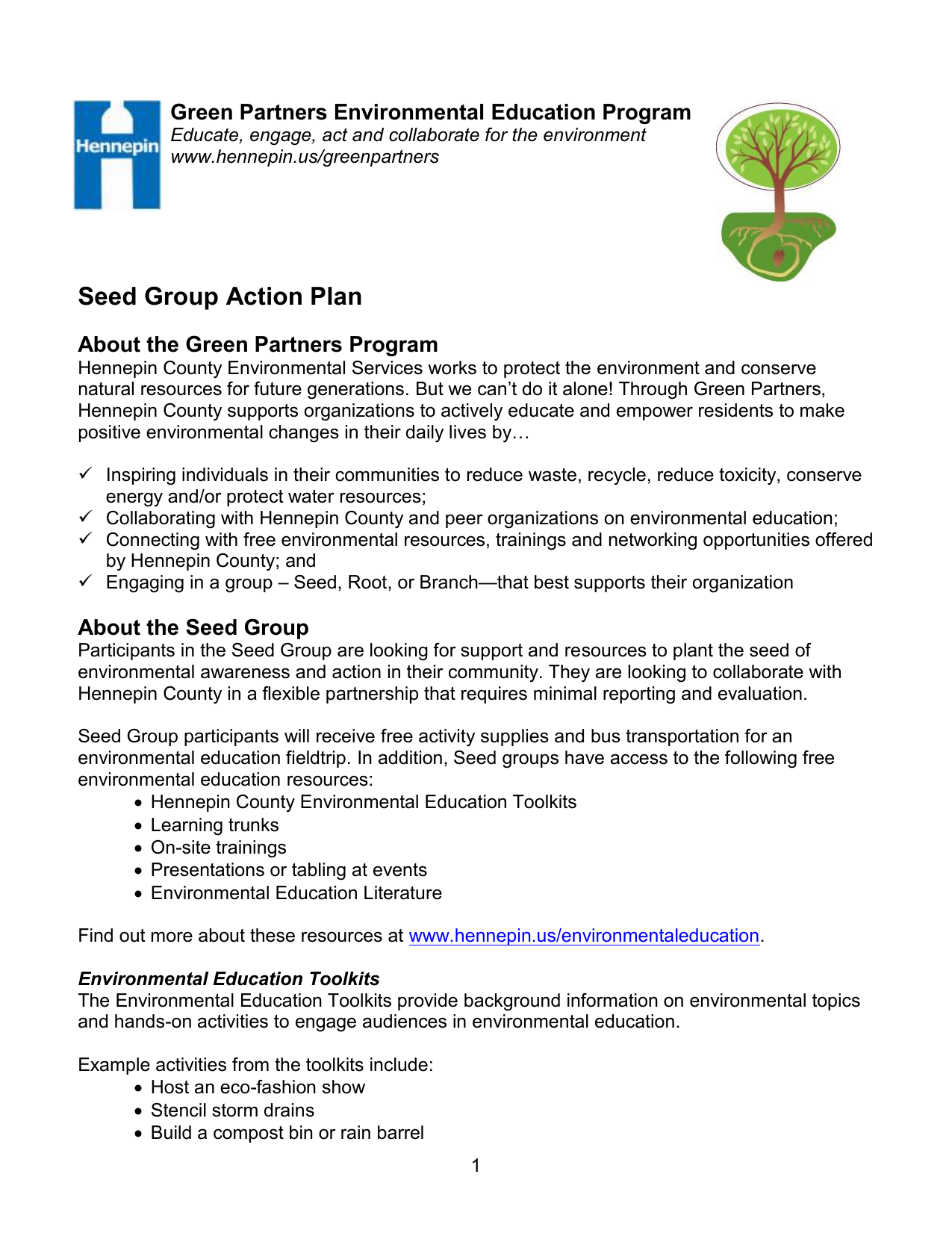 Branch Group RFP - Hennepin County