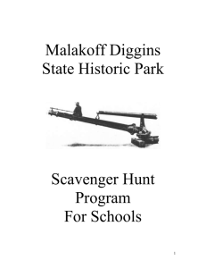 Scavenger Hunt Program and Student Question