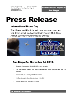 Press release Drone Day - First Weedwacker Aerosquadron