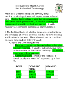 Medical Term Notes