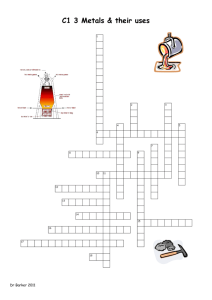 metals and alloys crossword