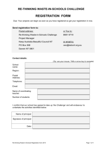 registration form - Keep Australia Beautiful Council Northern Territory
