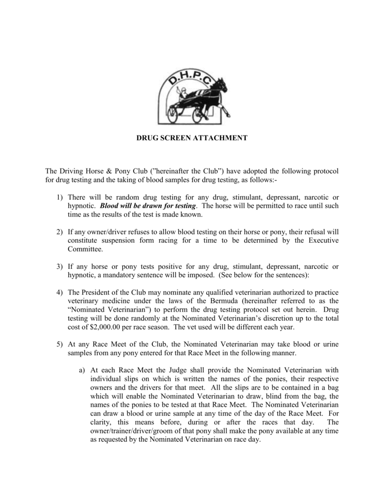 CONSTITUTION OF - Driving Horse and Pony Club
