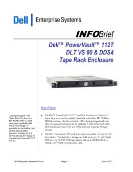 Dell PowerEdge 1300 PowerVault 110T DLT VS80 Tape Backup Drivers Windows 7