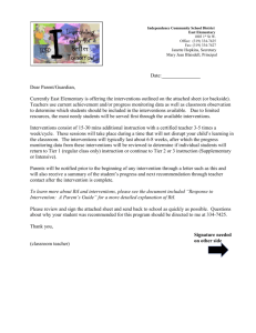 RtI Permission Letter Example - School Administrators of Iowa