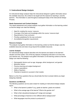 Objectives defined for Ktip lesson plan template