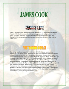 James Cook Paul G