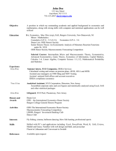 Sample Resume (download and use as a