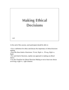 03-Making Ethical