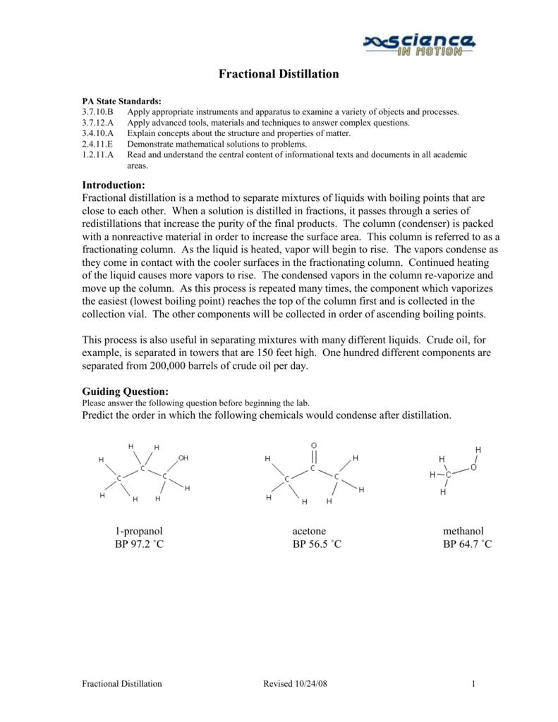 fractional distillation adcccbcbddeebepng