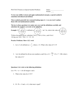 Abc periodic table oddities psatsat practice on special symbol problems urtaz Images