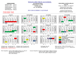 to view the WS K-8 School Calendar