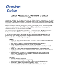 junior process manufacturing engineer