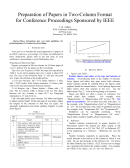 Ieee conference paper template preparation of papers in two column format for the proceedings of pronofoot35fo Choice Image