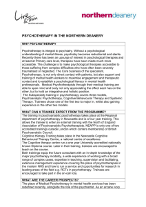 Psychotherapy Specialty Template