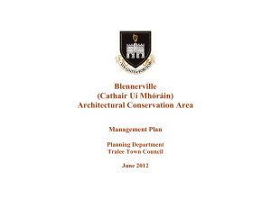 Blennerville Architectural Conservation Area Management Plan