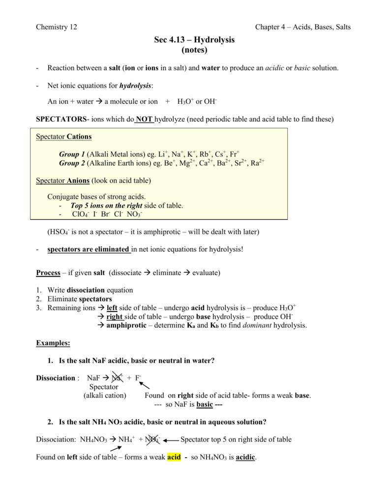 Sec 4.13 - teacher notes