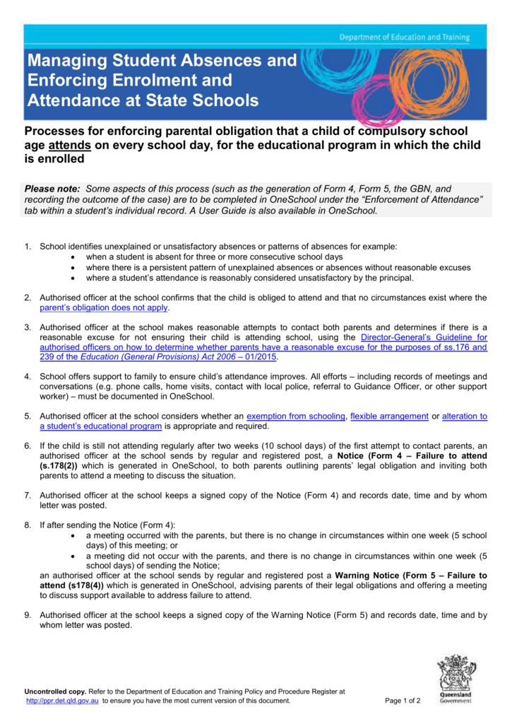 Processes for enforcing parental obligation that a child of