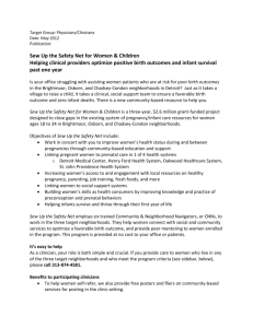 Target Group: Physicians/Clinicians