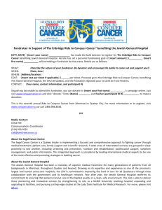 Fundraising Advisory - Ride to Conquer Cancer