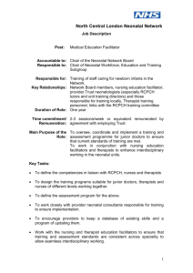 London Neonatal Network Job Descriptions