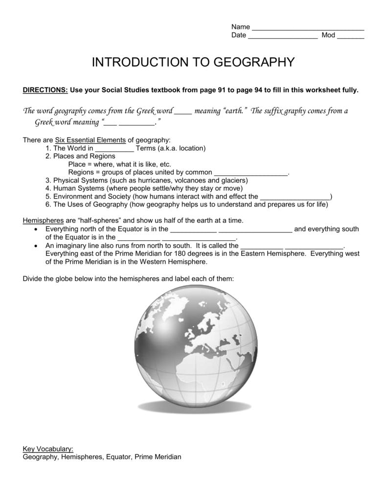 worksheet Western Hemisphere Worksheets atlas skills worksheet name
