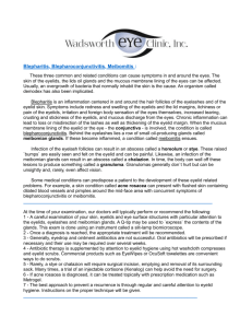 Blepharitis Meibomitis - Wadsworth Eye Clinic, Inc.