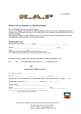 to donation form - restoration for abused people