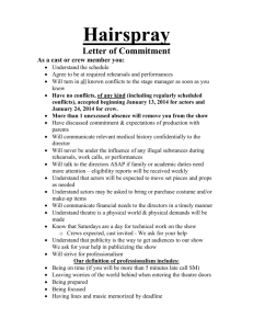 Richard III Letter of Commitment