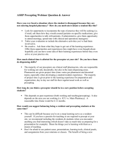 Site director-Victoria-Education Deliverables