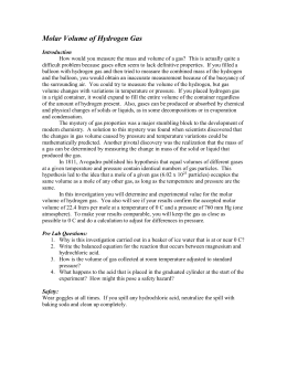 Hcl + Mg Lab Report