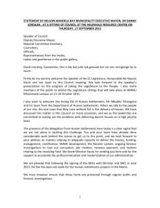 Example - Letter for permission to conduct research