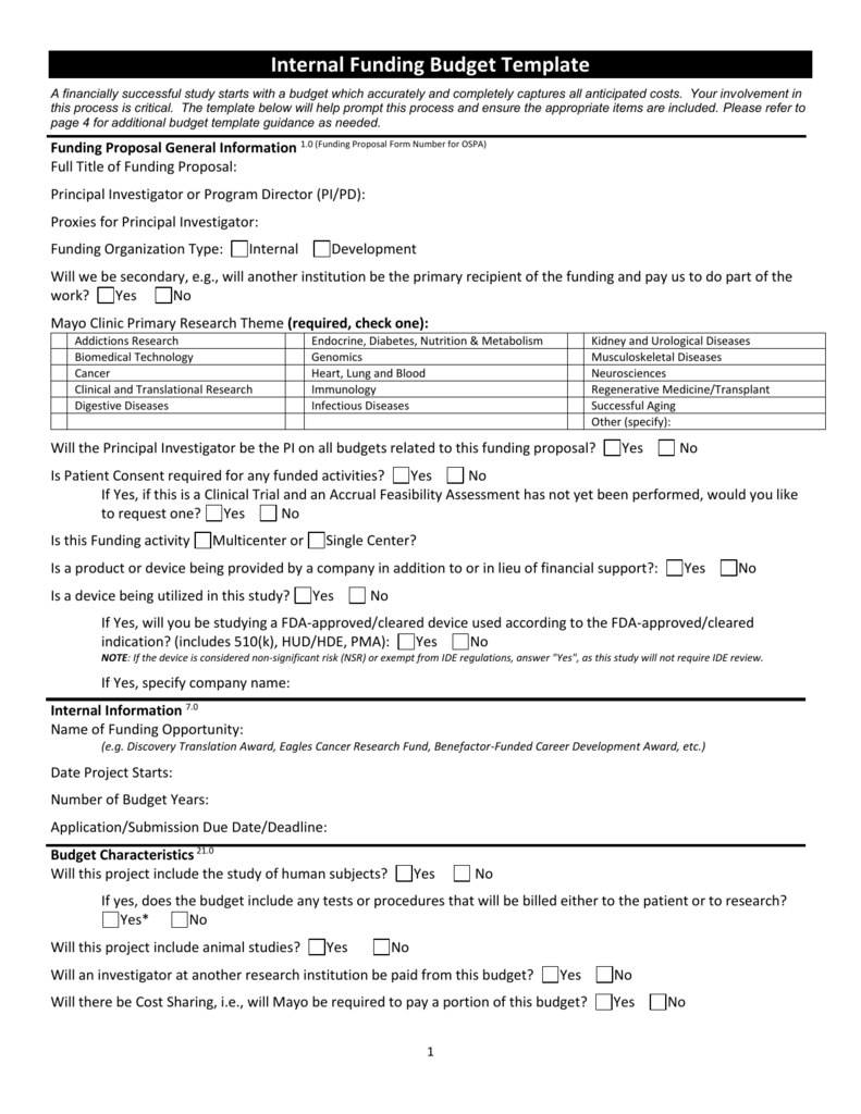 Research Proposal Budget Template from s3.studylib.net