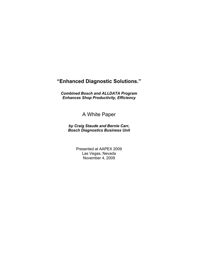 "Enhanced Diagnostic Solutions"""