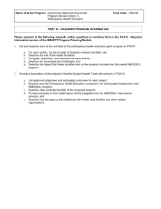 RFP FY2012 ACLS Continuation Package FC: 340