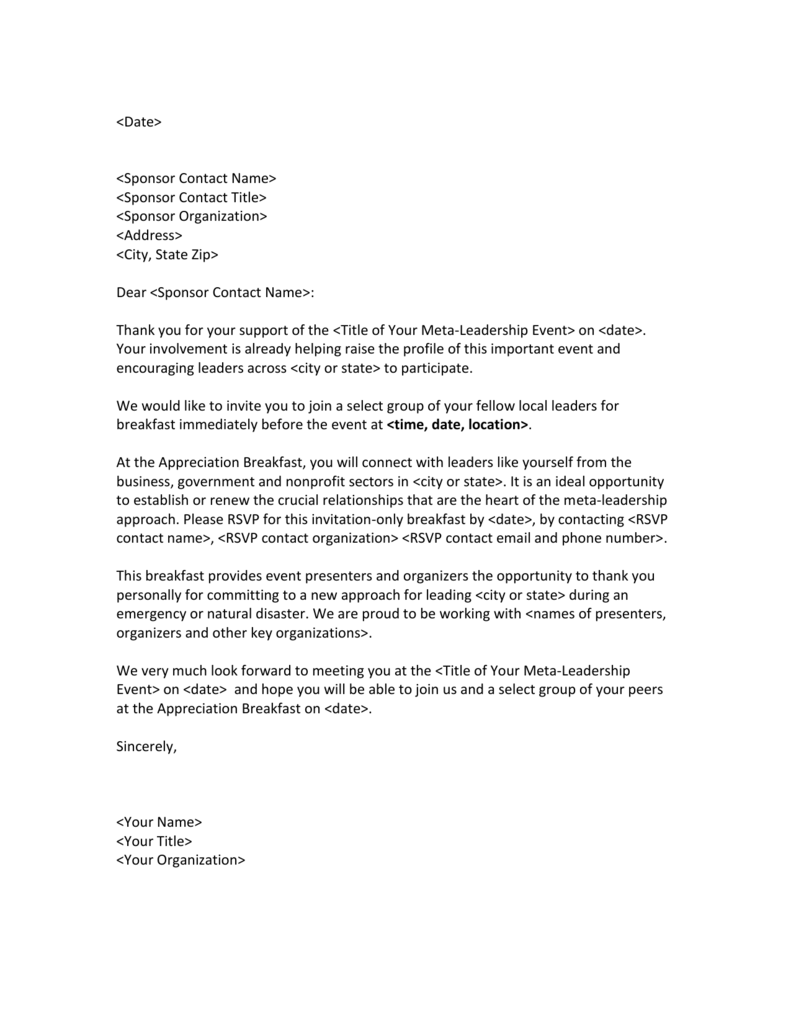 Thank You Letter For Business Opportunity from s3.studylib.net