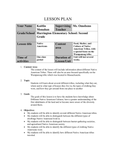 LESSON PLAN (Template)
