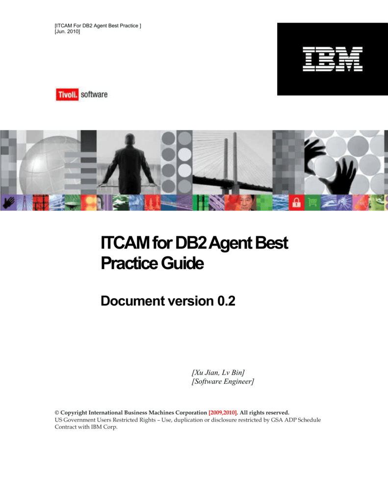 ITCAM for DB2 Agent Best Practice Guide