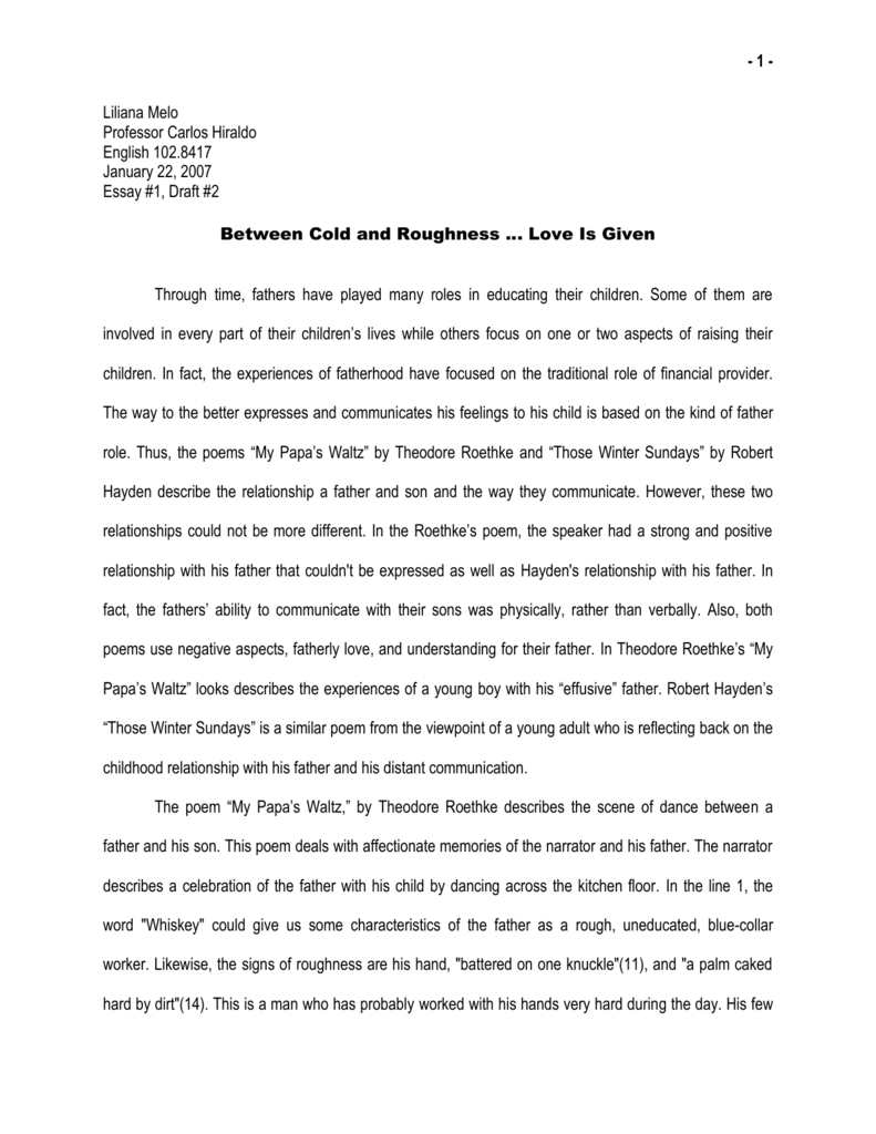 what makes a good relationship essay