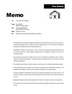 District Policy Memo