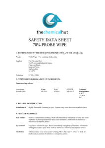 Safety Data Sheet - The Chemical Hut